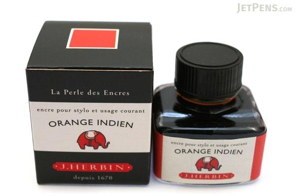 J. Herbin Orange Indien Ink (Indian Orange) - 30 ml Bottle - J. HERBIN H130/57