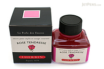 J. Herbin Rose Tendresse Ink (Tenderness Rose Pink) - 30 ml Bottle - J. HERBIN H130/61