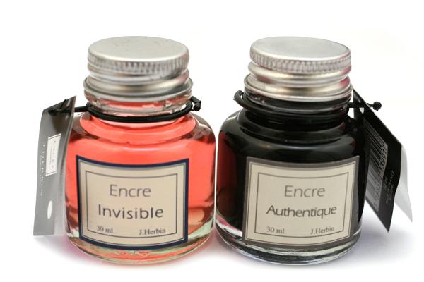 J. Herbin Dip Pen Ink - 30 ml Bottle - Invisible Ink - J. HERBIN 138-90