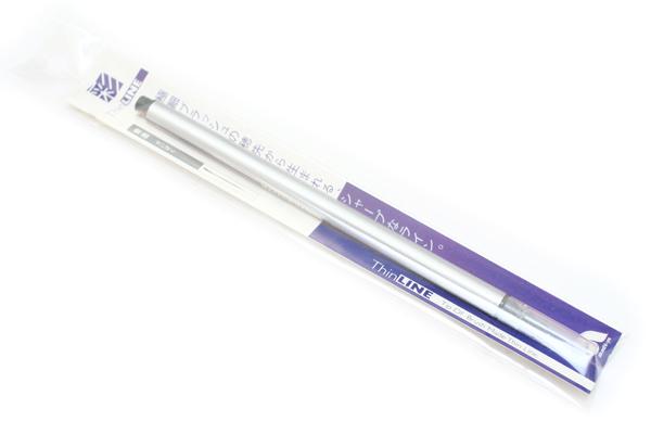 Akashiya Sai ThinLine Watercolor Brush Pen - Seiboku (Japanese Blue Black) - AKASHIYA TCA300-21
