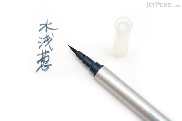 Akashiya Sai ThinLine Watercolor Brush Pen - Mizuasagi (Scallion Green) - AKASHIYA TCA300-22