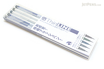 Akashiya Sai ThinLine Watercolor Brush Pen - 5 Color Set - AKASHIYA TCA300-5VA