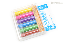 Rikagaku Dustless Chalk - 6 Color Set - RIKAGAKU DCC-6-6C
