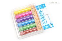 Rikagaku Dustless Chalk - 6 Color Set - RIKAGAKU DCC-6-6C