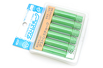 Rikagaku Dustless Chalk - Green  - Pack of 6 - RIKAGAKU DCC-6-G
