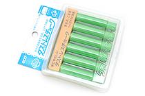 Rikagaku Dustless Chalk - Green  - Pack of 6 - RIKAGAKU DCC-6-G