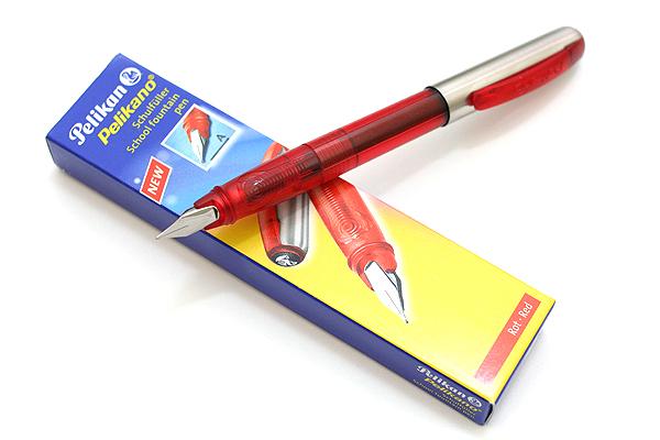 Pelikan Pelikano Starter Pen P460 - A Nib - Red Body - PELIKAN 926824