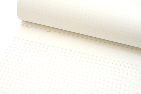 "Maruman Mnemosyne Project Notepad - A4 (8.3"" X 11.7"") - 5 mm X 5 mm Graph - 70 Sheets - Bundle of 5 - MARUMAN N187 BUNDLE"