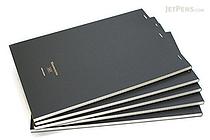 "Maruman Mnemosyne Project Notepad - A4 (8.3"" X 11.7"") - 5 mm X 5 mm Graph - 70 Sheets - Bundle of 5 - MARUMAN N187 BUNDLE"