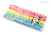 Kokuyo Beetle Tip 3way Highlighter Pen - 5 Color Set - KOKUYO PM-L301-5S