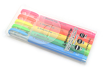 Kokuyo Beetle Tip 3way Highlighter Pen - 5 Color Set - KOKUYO PM-L301-5S