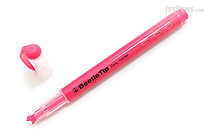 Kokuyo Beetle Tip 3way Highlighter Pen - Pink - KOKUYO PM-L301P