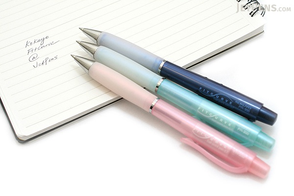 Kokuyo FitCurve Ballpoint Pen - 0.7 mm - Blue Body - KOKUYO PR-300B