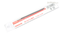 Kokuyo FitCurve Ballpoint Pen Refill - 0.7 mm - Red - KOKUYO PRR-SJ7R