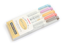 Zebra Mildliner Double-Sided Highlighter - Fine / Bold - 5 Deep & Warm Color Set - ZEBRA WKT7-5C-RC