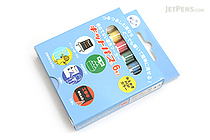 Rikagaku Kitpas Kids Wet-Erase Crayon - 6 Color Set - RIKAGAKU KPK-6-6C