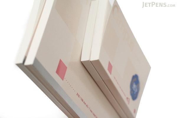 "Kokuyo Campus High Grade MIO Paper Notebook - A5 (5.8"" X 8.3"") - 24 Lines X 80 Sheets - Red Accents - Bundle of 5 - KOKUYO NO-GG108A BUNDLE"
