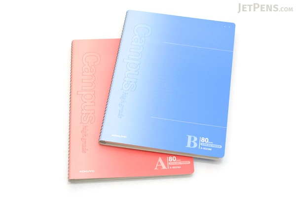 "Kokuyo Campus High Grade CYO-BO Paper Notebook - B5 (6.9"" X 9.8"") - 29 Lines X 80 Sheets - Red - Bundle of 5 - KOKUYO SU-GDC8A BUNDLE"