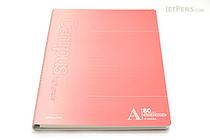 "Kokuyo Campus High Grade CYO-BO Paper Notebook - B5 (6.9"" X 9.8"") - 29 Lines X 80 Sheets - Red - KOKUYO SU-GDC8A"
