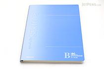 "Kokuyo Campus High Grade CYO-BO Paper Notebook - B5 (6.9"" X 9.8"") - 34 Lines X 80 Sheets - Blue Cover - KOKUYO SU-GDC8B"