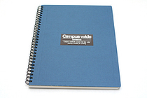 Kokuyo Campus Wide Twin Ring Notebook - Special B5 - Blue - KOKUYO SU-T30A-B