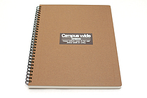 Kokuyo Campus Wide Twin Ring Notebook - Special B5 - Khaki Brown - KOKUYO SU-T30A-S
