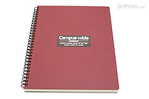 Kokuyo Campus Wide Twin Ring Notebook - Special B5 - Red - KOKUYO SU-T30B-R