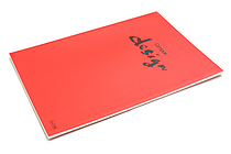 Kokuyo Campus Design Notebook - A4 - 3 mm Graph - Red - KOKUYO YOSA-10R