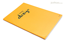 Kokuyo Campus Design Notebook - A4 - 3 mm Graph - Yellow - KOKUYO YOSA-10Y