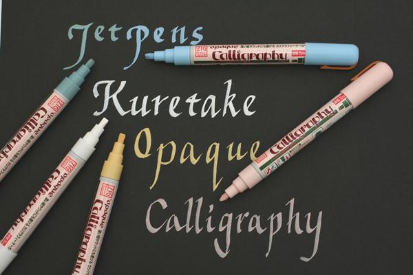 Kuretake Zig Opaque Broad Calligraphy Pen - 5.0 mm - Forget-Me-Not Blue - KURETAKE POC-55-343
