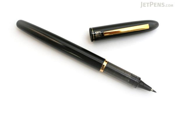Kuretake Tegami Refillable Letter Pen - Super Fine Lettering Tip - Black Body - KURETAKE ER186-010
