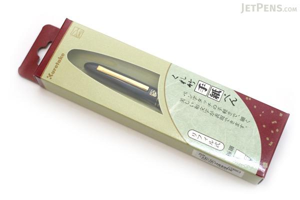 Kuretake Tegami Refillable Letter Pen - Super Fine Lettering Tip - Navy Body - KURETAKE ER190-010
