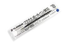 Platinum BSP-60S Ballpoint Pen Refill - 0.7 mm - Blue - PLATINUM BSP-60S-(F0.7) 3