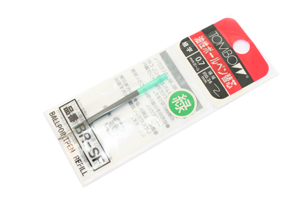 Tombow BR-SF Ballpoint Pen Refill - 0.7 mm - Green - TOMBOW BR-SF07