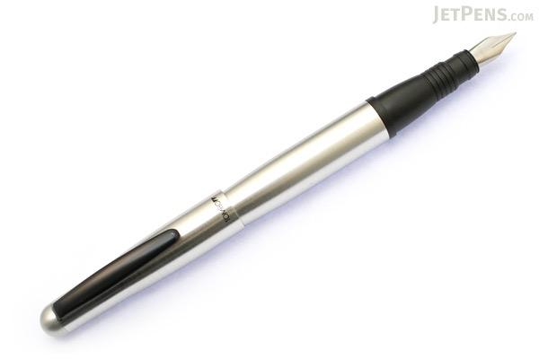 Tombow Object Fountain Pen - Fine Nib - Silver Body - TOMBOW FP-TC05F