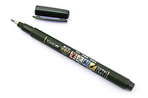 Tombow Fudenosuke Brush Pen - Soft - Black Body - TOMBOW GCD-112