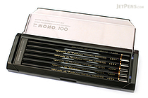 Tombow Mono 100 Pencil - 2B - Pack of 12 - TOMBOW MONO-1002B BUNDLE