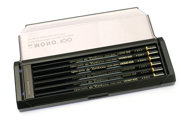 Tombow Mono 100 Pencil - 2H - Pack of 12 - TOMBOW MONO-1002H BUNDLE