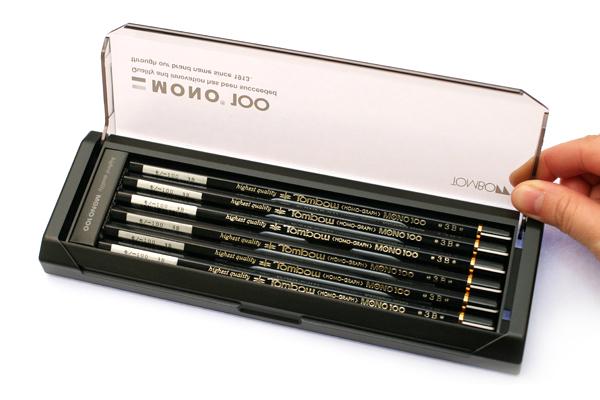 Tombow Mono 100 Pencil - 3B - Pack of 12 - TOMBOW MONO-1003B BUNDLE