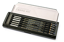 Tombow Mono 100 Pencil - 3B - Pack of 12 - TOMBOW MONO-1003B BUNDLE