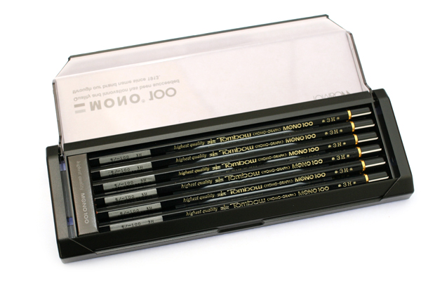 Tombow Mono 100 Pencil - 3H - Pack of 12 - TOMBOW MONO-1003H BUNDLE