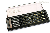 Tombow Mono 100 Pencil - 4H - Pack of 12 - TOMBOW MONO-1004H BUNDLE
