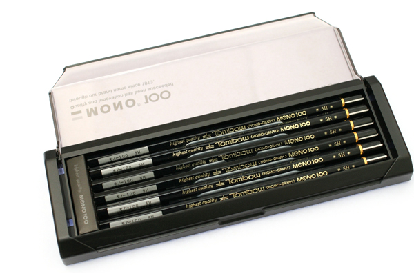 Tombow Mono 100 Pencil - 5H - Pack of 12 - TOMBOW MONO-1005H BUNDLE