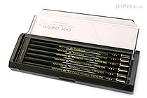 Tombow Mono 100 Pencil - B - Pack of 12 - TOMBOW MONO-100B BUNDLE