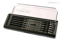 Tombow Mono 100 Pencil - B - Pack of 12 - TOMBOW MONO-100B BUNDLE
