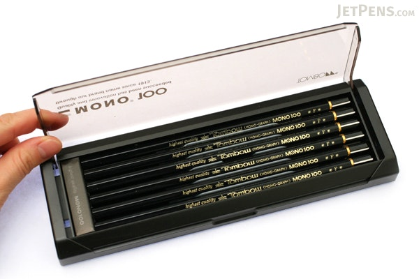 Tombow Mono 100 Pencil - F - Pack of 12 - TOMBOW MONO-100F BUNDLE