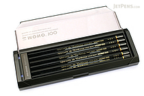 Tombow Mono 100 Pencil - H - Pack of 12 - TOMBOW MONO-100H BUNDLE