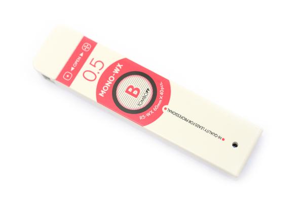 Tombow Mono-WX Pencil Lead - 0.5 mm - B - TOMBOW R5-WXB