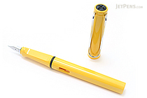 Lamy Safari Fountain Pen - Yellow - Fine Nib - LAMY L18F
