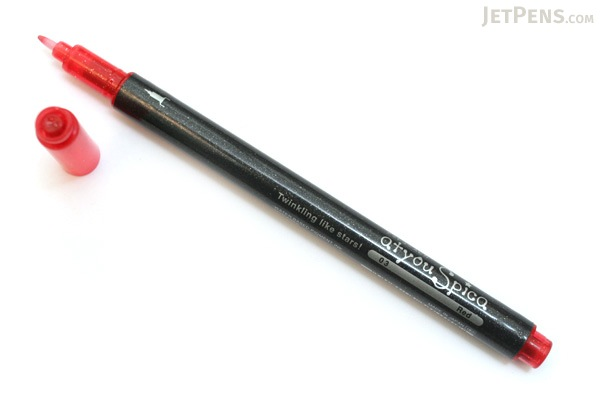 Copic atyou Spica Micro Glass Glitter Pen - Red - COPIC GLRED